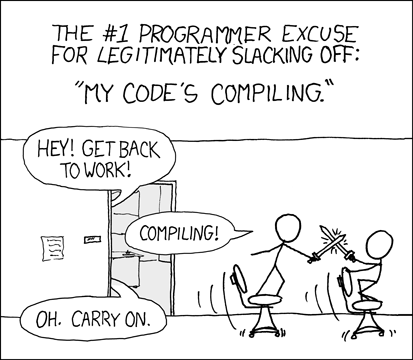 XKCD: Compiling